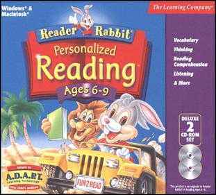 Reader Rabbit Personalized Reading Ages 6-9