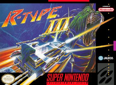 R-Type III: The Third Lightning - Box - Front