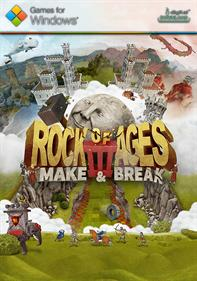 Rock of Ages III: Make and Break - Fanart - Box - Front