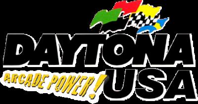 Daytona USA 2001 - Clear Logo