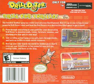 Drill Dozer - Box - Back