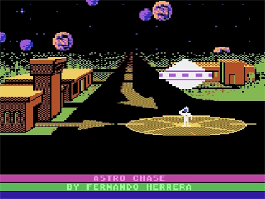 Astro Chase - Screenshot - Game Title