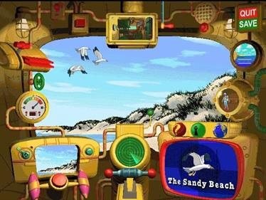 Scholastic's The Magic School Bus Explores the Ocean - Screenshot - Gameplay