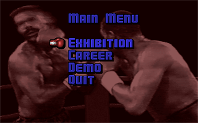ABC Wide World of Sports Boxing - Screenshot - Game Select