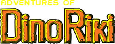 Adventures of Dino Riki - Clear Logo