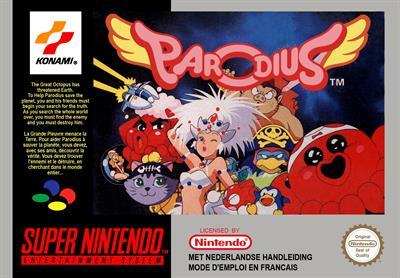 Parodius - Box - Front