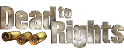 Dead to Rights - Clear Logo