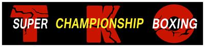 TKO Super Championship Boxing - Clear Logo