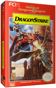 Advanced Dungeons & Dragons: DragonStrike - Box - 3D