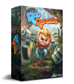 Rad Rodgers: World One - Box - 3D