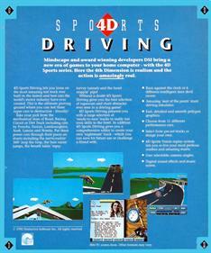 4D Sports Driving - Box - Back