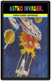 Astro Invader - Cart - Front