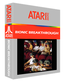 Bionic Breakthrough - Box - 3D