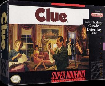 Clue - Box - 3D