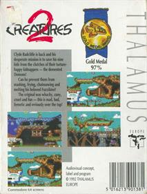 Creatures 2: Torture Trouble - Box - Back