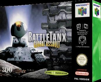 BattleTanx: Global Assault - Box - 3D