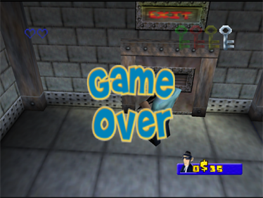 Blues Brothers 2000 - Screenshot - Game Over