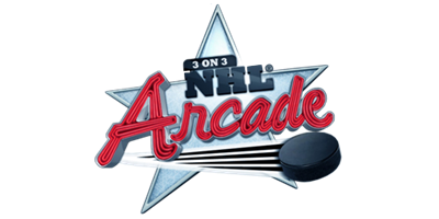 3 on 3 NHL Arcade - Clear Logo