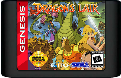 Dragon's Lair: The Adventure Continues - Cart - Front