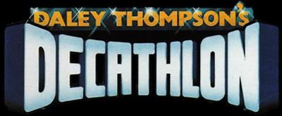 Daley Thompson's Decathlon - Clear Logo