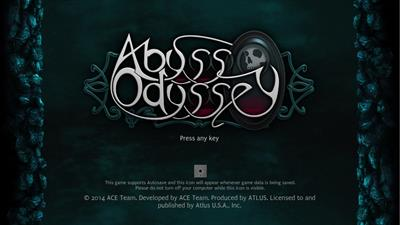 Abyss Odyssey - Screenshot - Game Title