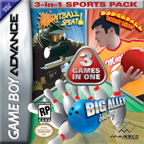 3-in-1 Sports Pack: Paintball Splat! / Dodgeball Dodge This! / Big Alley Bowling