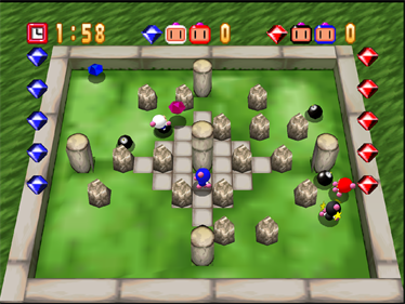 Bomberman 64 - Screenshot - Gameplay