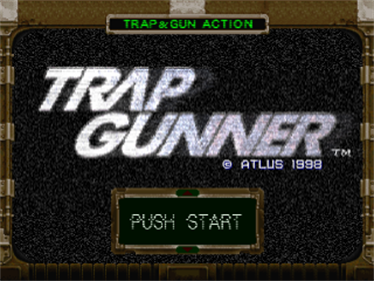 Trap Gunner: Countdown to Oblivion - Screenshot - Game Title