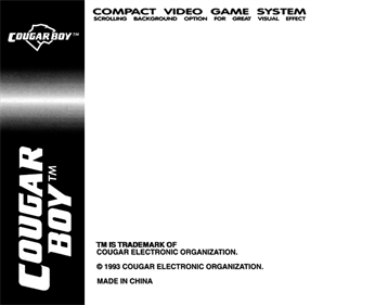 Armour Force - Box - Back