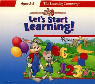 Reader Rabbit and Friends: Let's Start Learning!