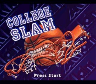 College Slam - Screenshot - Game Title