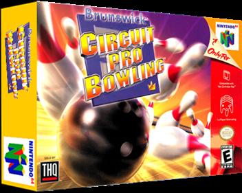 Brunswick Circuit Pro Bowling - Box - 3D