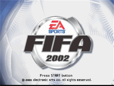 FIFA Soccer 2002: Major League Soccer - Screenshot - Game Title