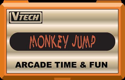 Monkey Jump - Clear Logo