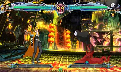 BlazBlue: Chrono Phantasma - Screenshot - Gameplay