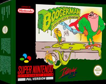 Boogerman: A Pick and Flick Adventure - Box - 3D