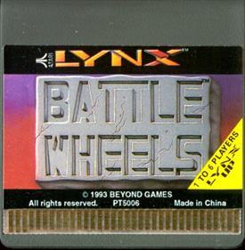 Battle Wheels - Cart - Front
