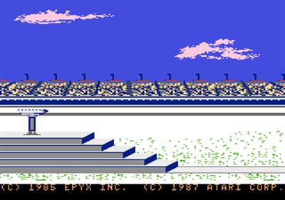 Winter Games - Screenshot - Game Title