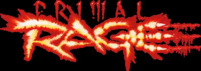 Primal Rage - Clear Logo