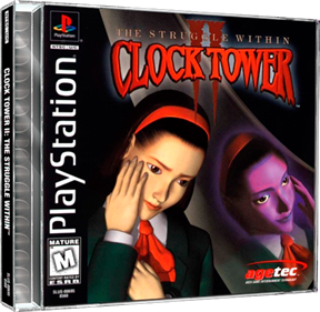 Clock Tower II: The Struggle Within - Box - 3D