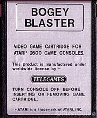 Bogey Blaster - Cart - Front