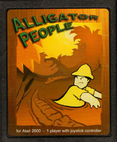 The Alligator People - Cart - Front