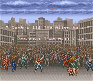 Contra III: The Alien Wars - Screenshot - Gameplay