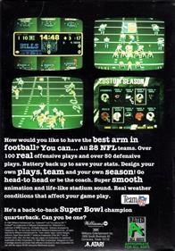 Troy Aikman NFL Football - Box - Back