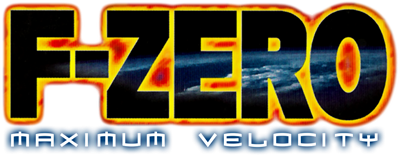 F-Zero: Maximum Velocity - Clear Logo