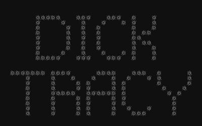 Dick Tracy - Screenshot - Game Title