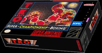 TKO Super Championship Boxing - Box - 3D