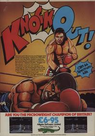 10... Knockout! - Advertisement Flyer - Front