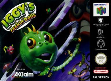 Iggy's Reckin' Balls - Box - Front