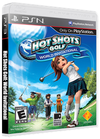 Hot Shots Golf: World Invitational - Box - 3D